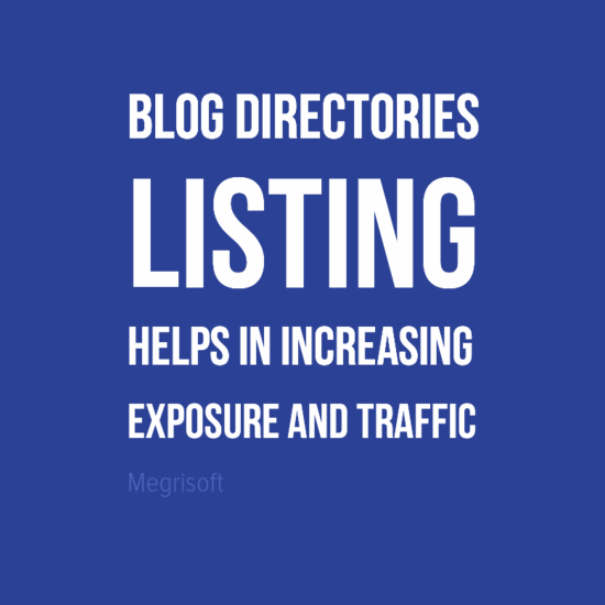 Why Blogger Needs Blog Directory Listing and Submission Services