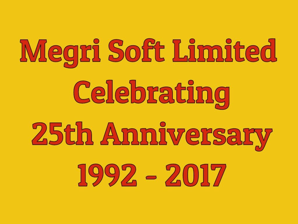 Megrisoft At 25 Celebrating Silver Jubilee Business Anniversary