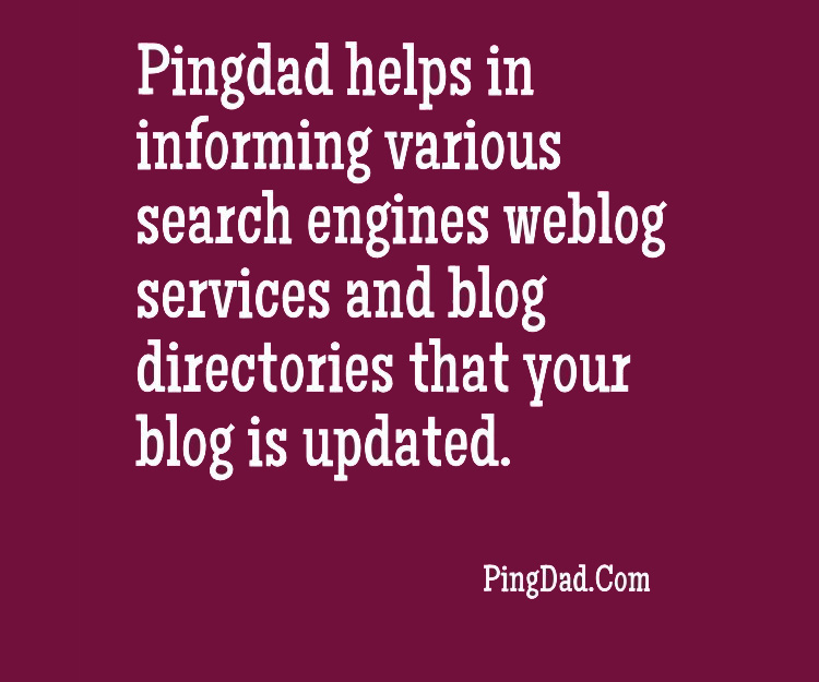 What is PingDad?
