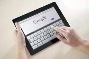 Google Search On Apple iPad2